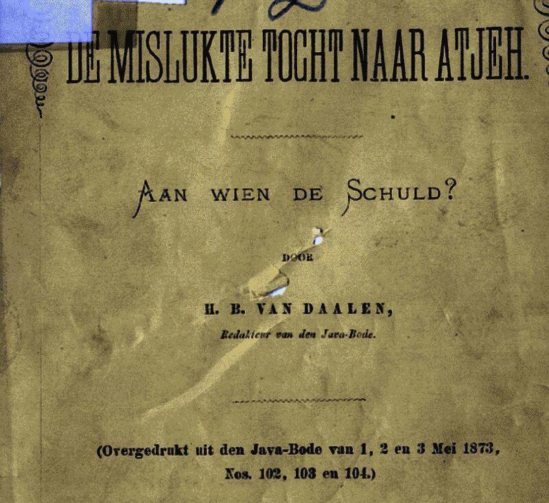 brochure atjeh tocht 1873