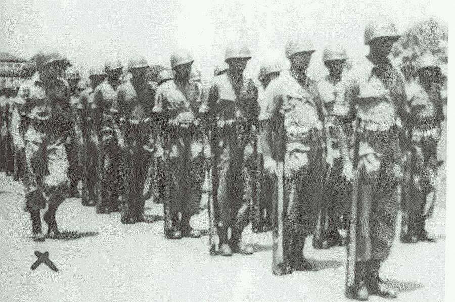 Poncke Princen als TNI kommandant