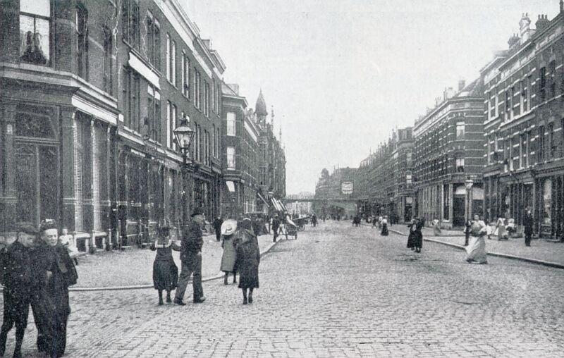 De Industrieschool in de Bentheimdwarsstraat, in 1933 Almondestraat Rotterdam